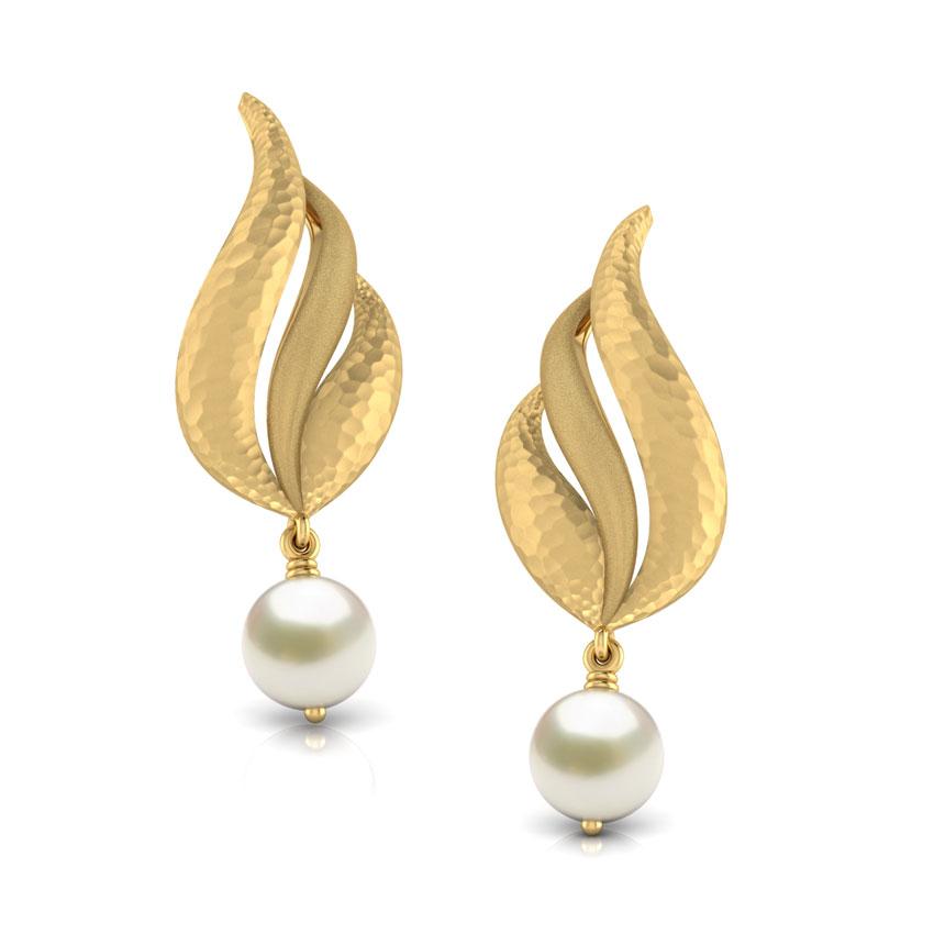 earring designs bevan hammered drop earrings ... mjlpvuo