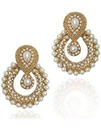 earrings for girls dancing girl white pearl dangle u0026 drop earrings for women/girls waivxhd