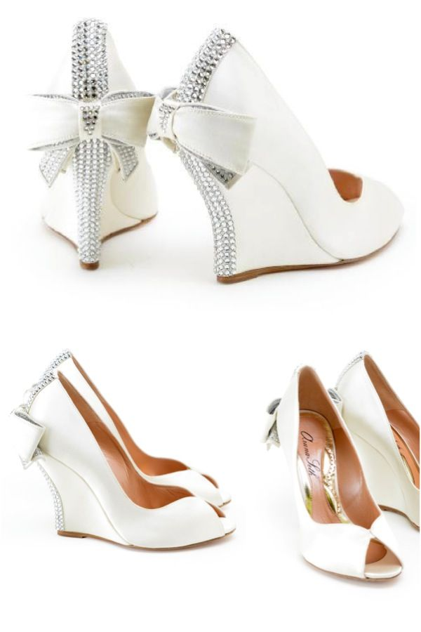 Editoru0027s Pick Wedge Wedding Shoes From Aruna Seth Kokeuvp