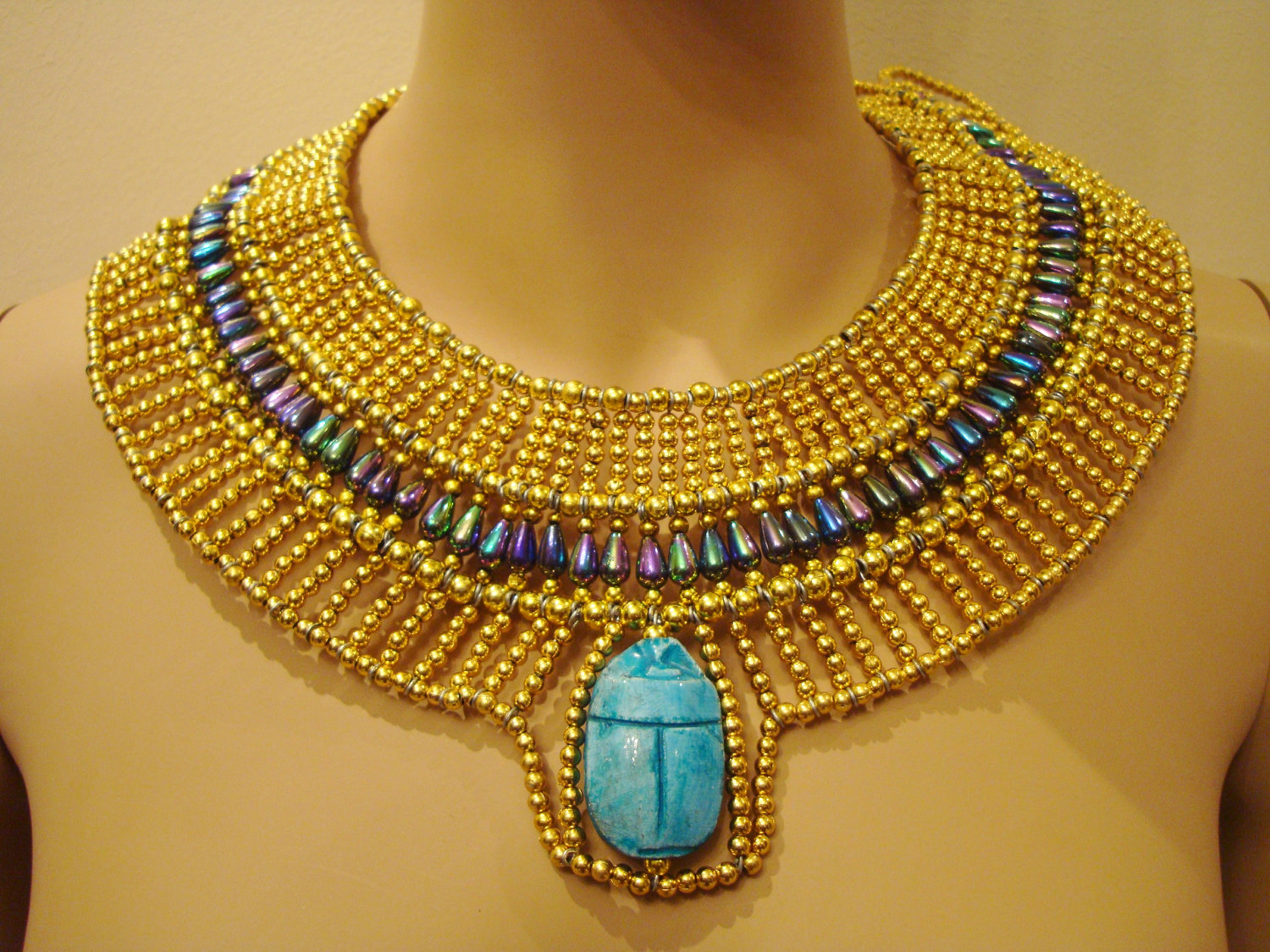 egyptian jewelry ancient egypt jewelry | unique egyptian hand made gold u0026 vivid beaded queen  cleopatra gdmfiig