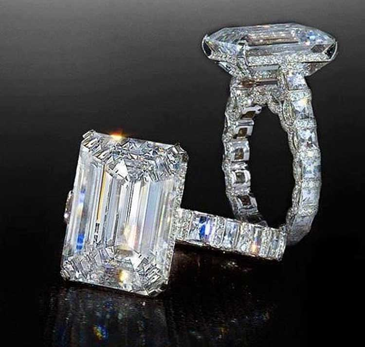 emerald cut diamond engagement rings -heaven mtmwhkc