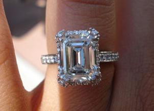 emerald cut emerald engagement ring posted by librarychickie emerald engagement ring  posted by emeraldlover htaozia