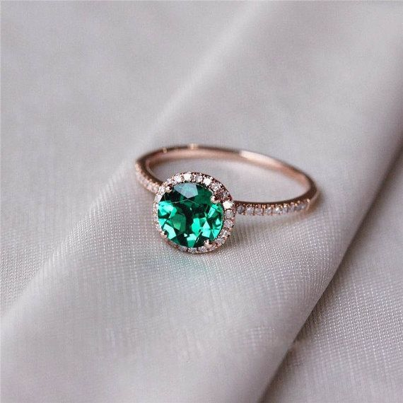emerald engagement rings emerald engagement ring emerald ring halo by oliveavenuejewelry $625 qjgxxha