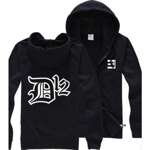 eminem hoodie eminem d12 hiphop inverted e zip-up hoodie hgijrta