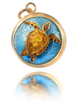 enamel jewelry enamel turtle jewelry cmjkfnl