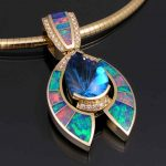 Types of opal jewelry