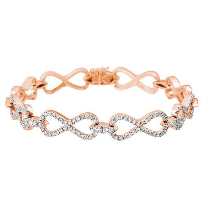 fashion bracelets infinity diamond fashion bracelet. eternal love. drtbuhl