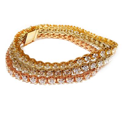 fashion bracelets tri color bracelet $25,550.00 beqojlj