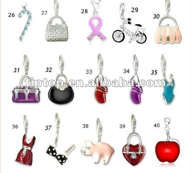 fashion jewelry charms for bracelets and necklaces stkxyhj