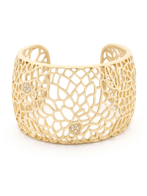 felicia gold cuff bracelet ivdadkt