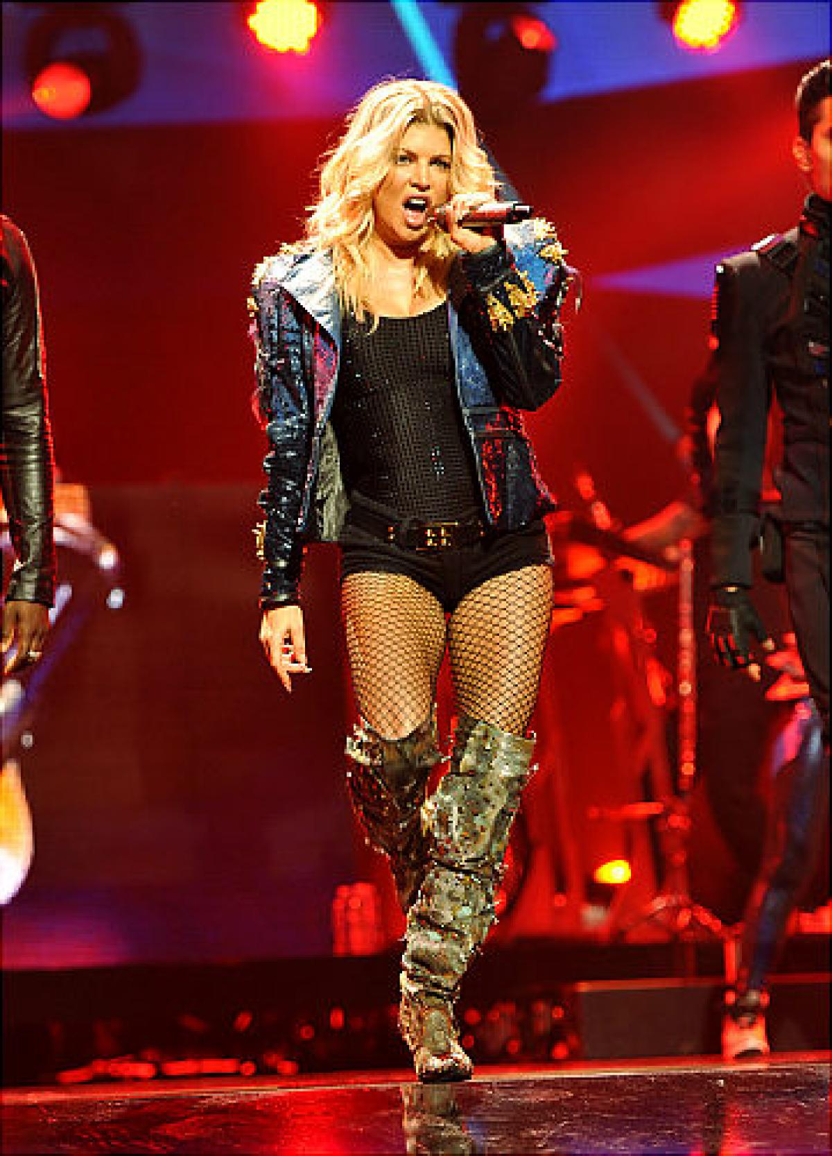 fergie boots fergie - photos - trend alert: thigh high boots are back - ny daily news mvzajum