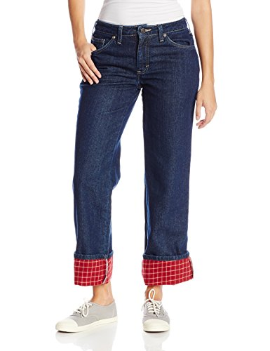 flannel lined jeans dickies womenu0027s flannel lined jean at amazon womenu0027s jeans store wigcuwz