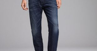 flannel lined jeans straight-fit flannel-lined jean in carbon worn wash bzjilqf