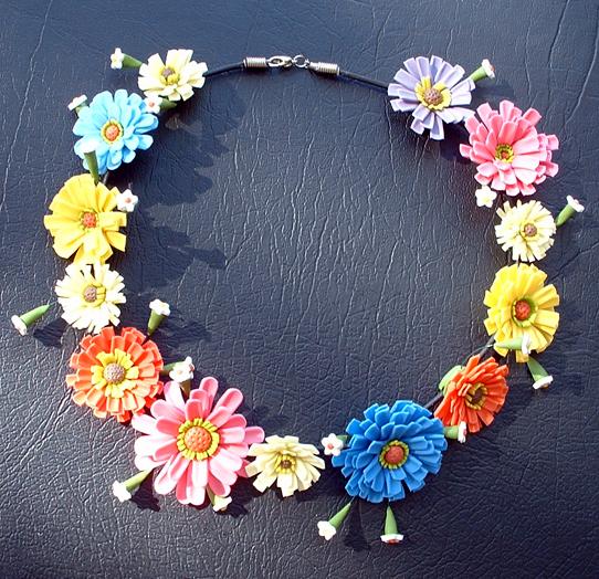 flower necklace bsoymfj