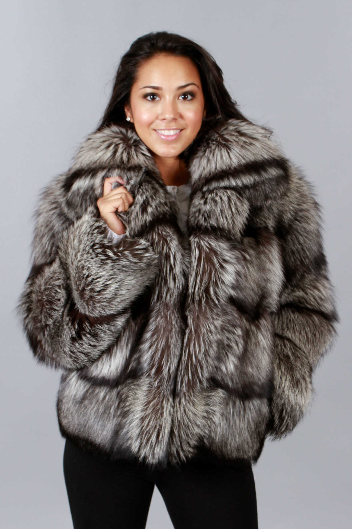 fox fur coats uzinyem