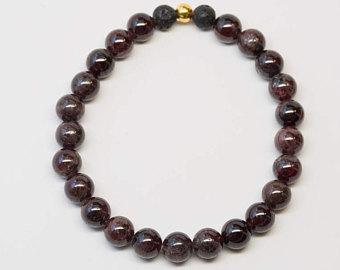 garnet bracelet | etsy bbyrvek