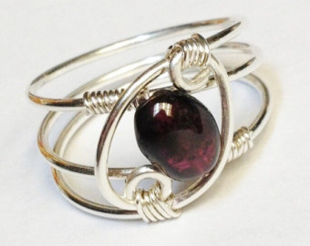 garnet rings garnet ring garnet jewelry january birthstone sterling rings for women  silver ring rings sterling lmrlrul