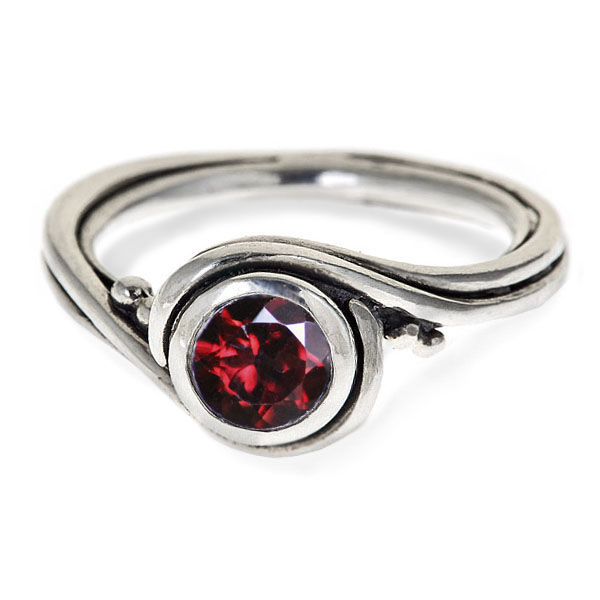 garnet rings garnet ring sterling silver rsjewkt