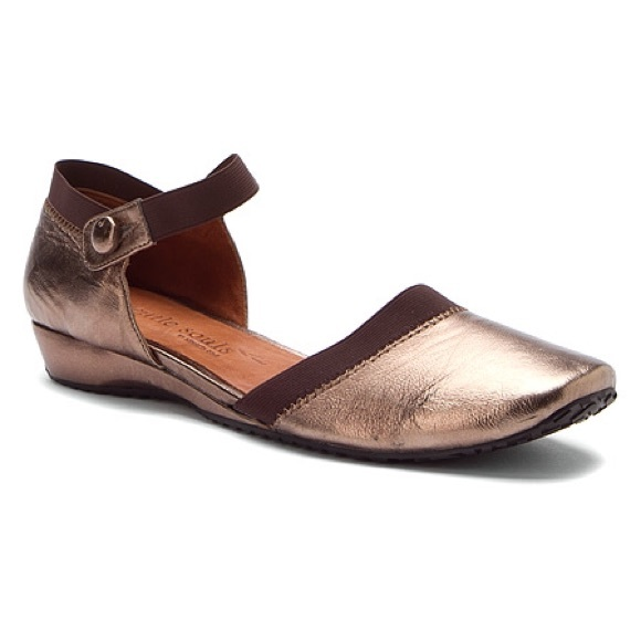 gentle souls shoes - sale-new in box-leather flats- gentle souls viovalc