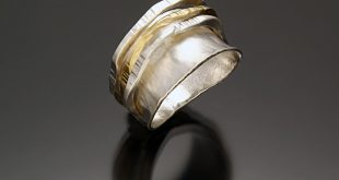 gold and silver rings fun ring ii by sana doumet (gold u0026 silver ring) | artful home qiwtxmz