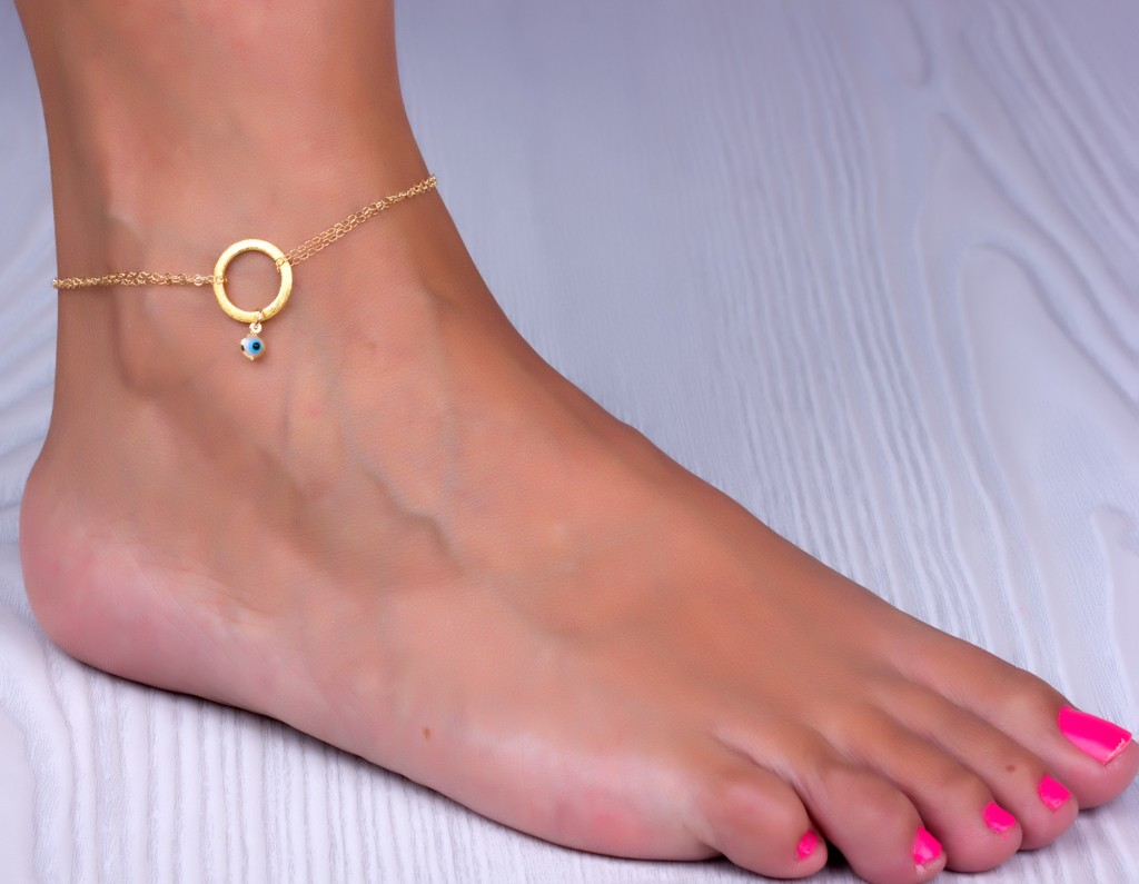 gold anklet, infinity ankle bracelet, evil eye anklet, best friend anklet,  bridesmaid klkygej