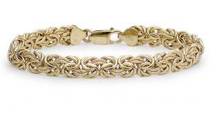 gold bracelets byzantine bracelet in 18k yellow gold rqhmlfa