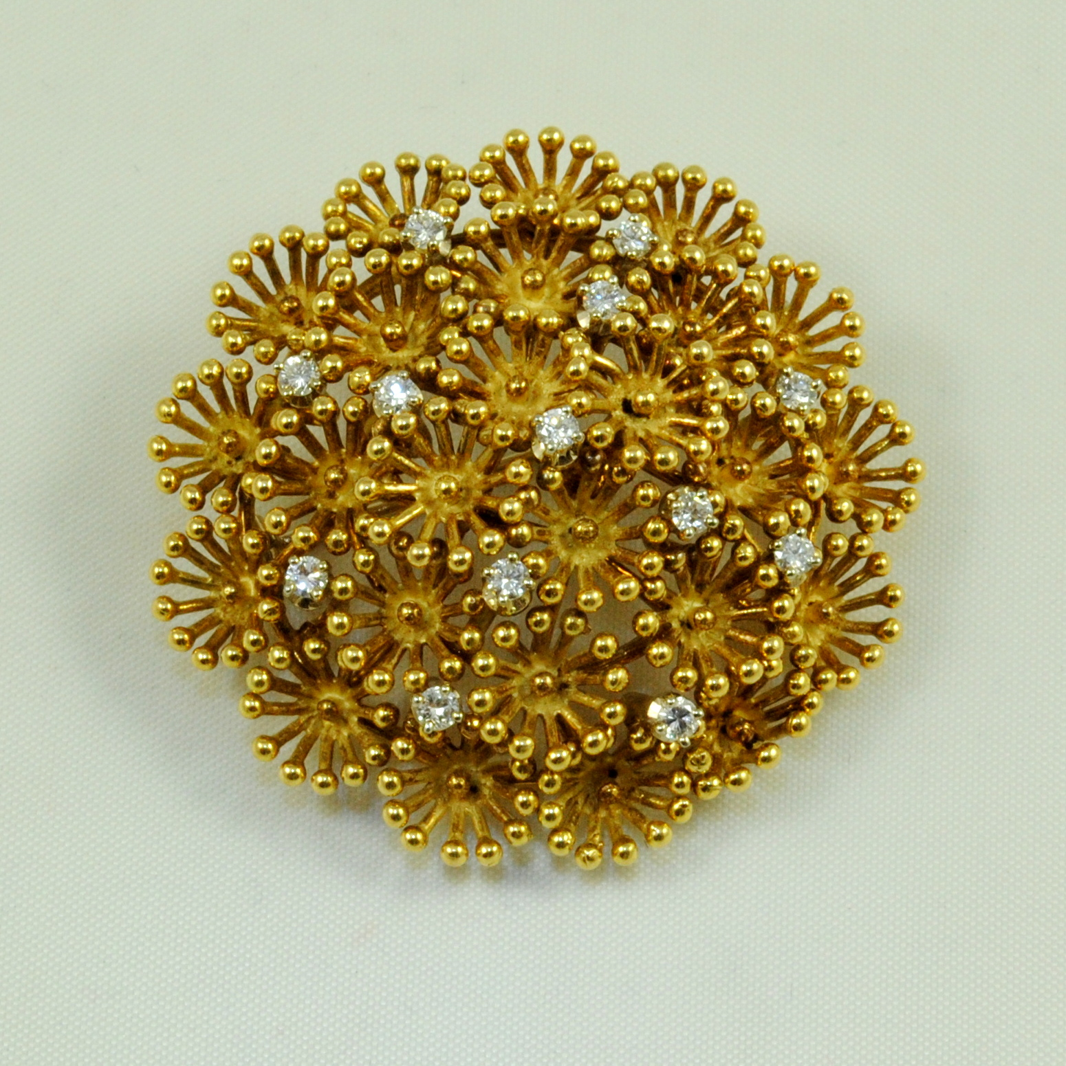 gold brooch ac11 yellow gold and diamond brooch yhrnmmn
