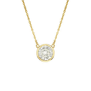 gold diamond necklace diamond necklaces - shop the best brands up to 15% off - overstock.com xbhgdka