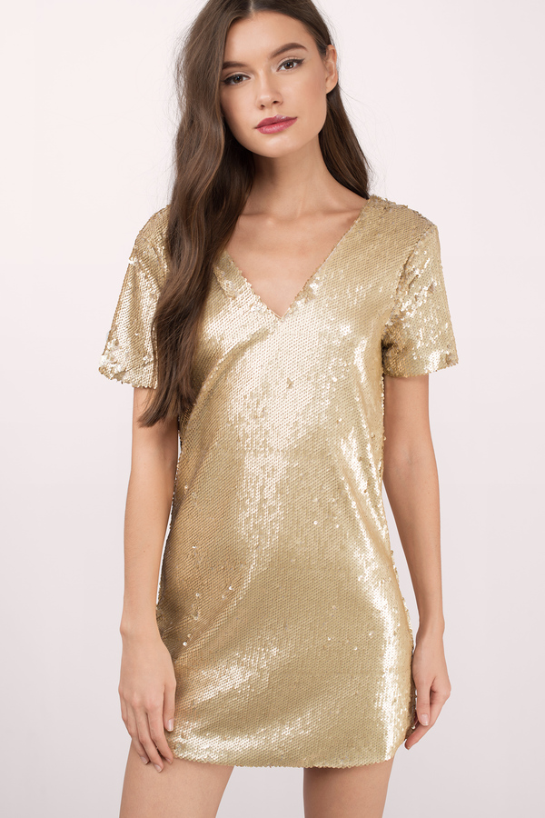 gold dress final sale awhzeak