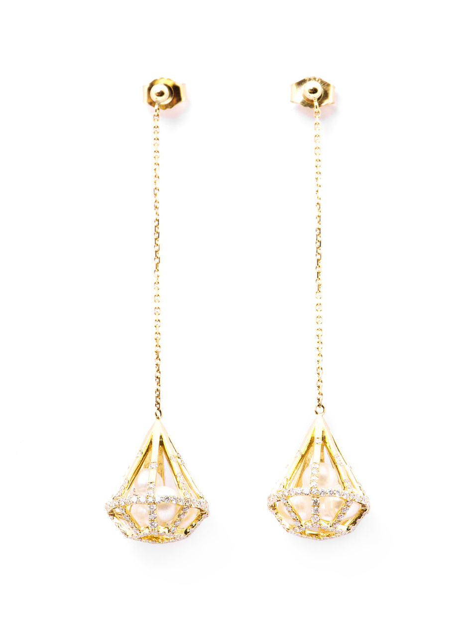 gold drop earrings qyulfos