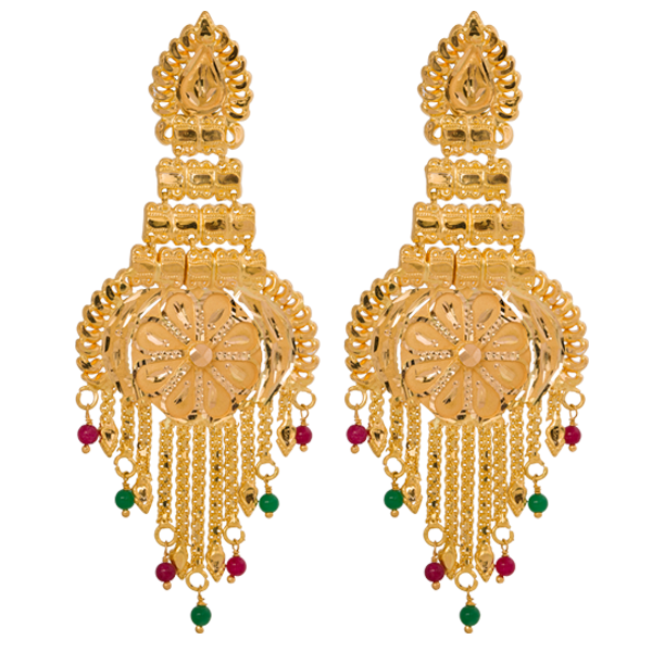The Beauty Gold Earrings StyleSkier