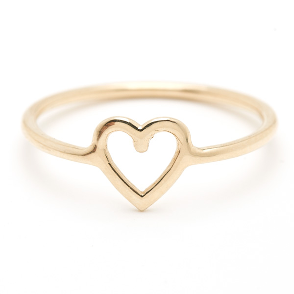 gold heart ring heart ring dqdizkc