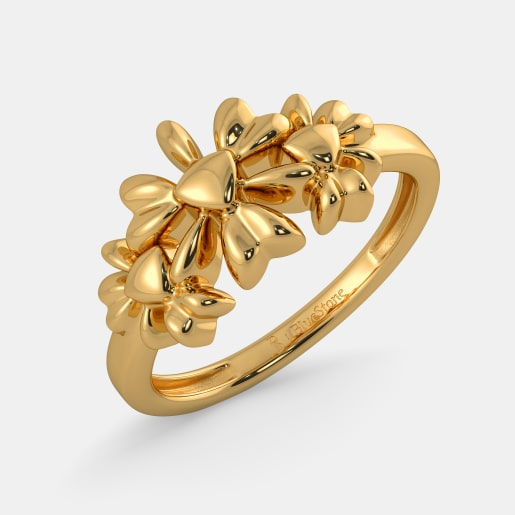 gold ring design the floral order ring otnduut