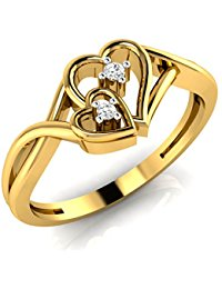 gold rings for women amazonin yellow gold rings women jewellery xchjyxf
