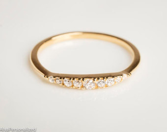 gold wedding bands diamond wedding band - wedding band women - diamond wedding ring - half  eternity zxwgmko