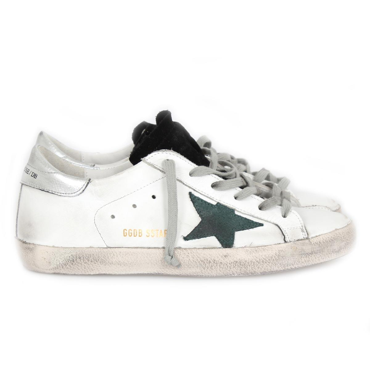 golden goose sneakers golden goose sneaker superstar white petroleum star. zoom sgorgde