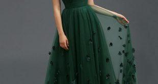 gown dresses vintage bateau appliques a-line evening dress elegant evening dresses-  ericdress.com 11151455 xgvqyii
