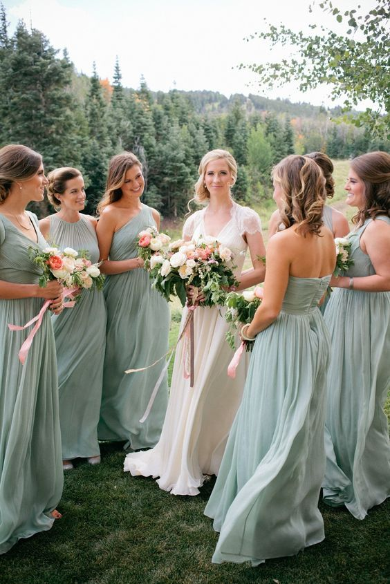 green bridesmaid dresses 100 bridesmaid dresses so pretty, theyu0027ll actually wear them again ougogvb