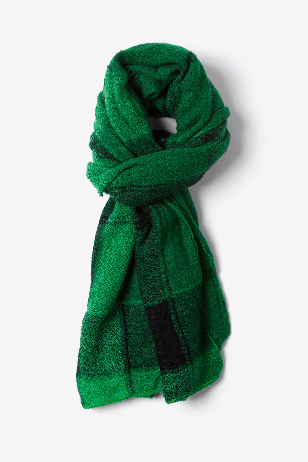 Choose green scarf which is Eco –Friendly