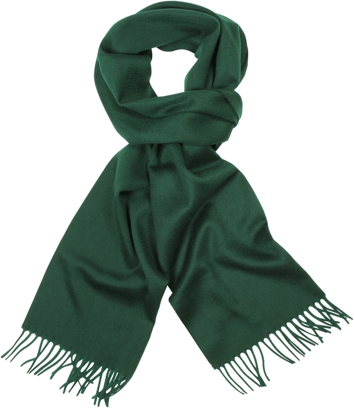 green scarf ... green scarves cnc costume national coveri collection solid wool fringed  long scarf ... imvydph