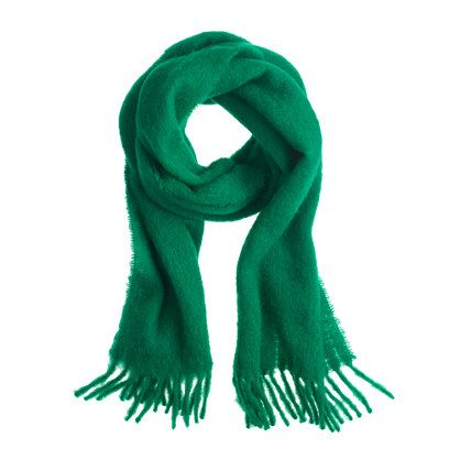 Choose Green Scarf Which Is Eco Friendly Styleskier Com