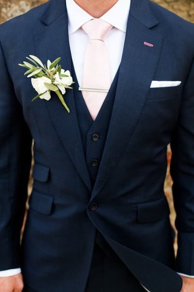 grooms suits navy and light pink groom attire. qvtncnr