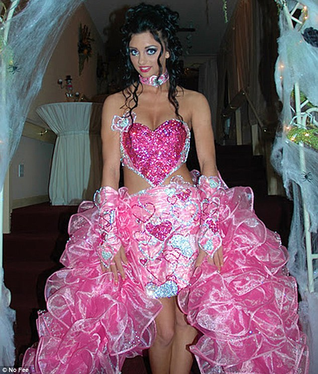 gypsy dresses princess: ms celli is more used to designing outrageous gypsy wedding  dresses, like the gyishrm