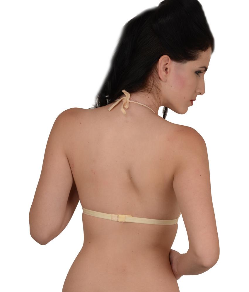 halter neck bra ... softskin multi color cotton halter bras bra pack of 3 dwkijuo