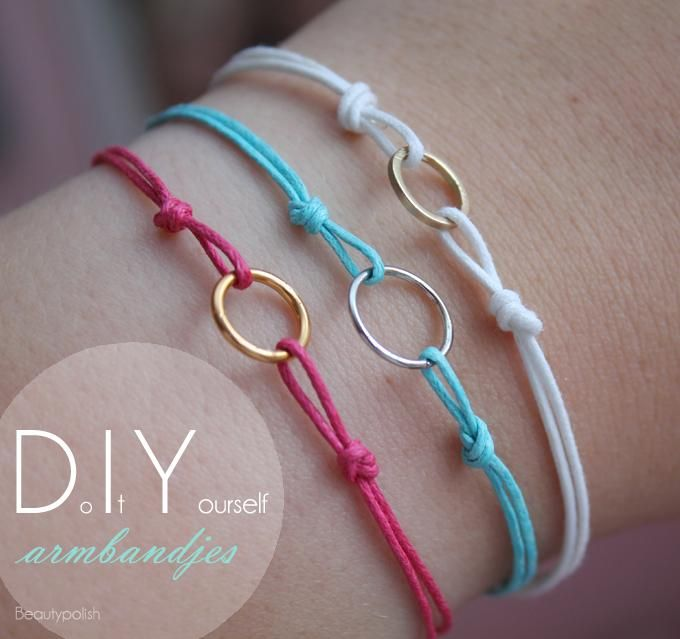 handmade bracelets diy bracelet (not in english, but you can figure it out by the pictures abwppjo