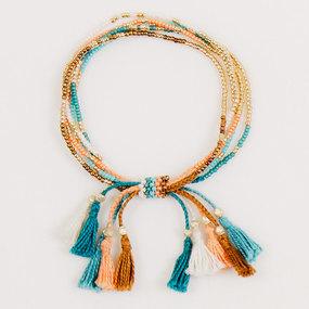 handmade bracelets multi strand tassel bracelet ithzxqs