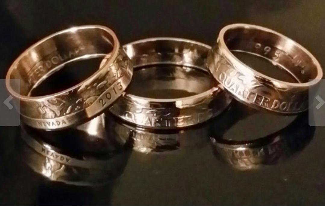 handmade rings coin rings - handmade craft store njherkb
