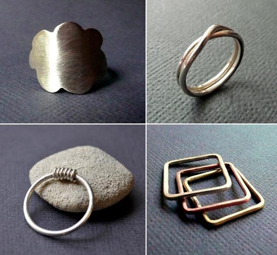handmade rings iokagnn
