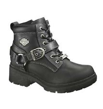 harley davidson boots for women new harley-davidson® womenu0027s tegan lace-up black leather motorcycle boots  d84424 brmcjpi