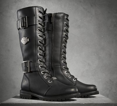 harley davidson boots for women womenu0027s belhaven performance boots - black | performance | official harley- davidson online store qklpefx